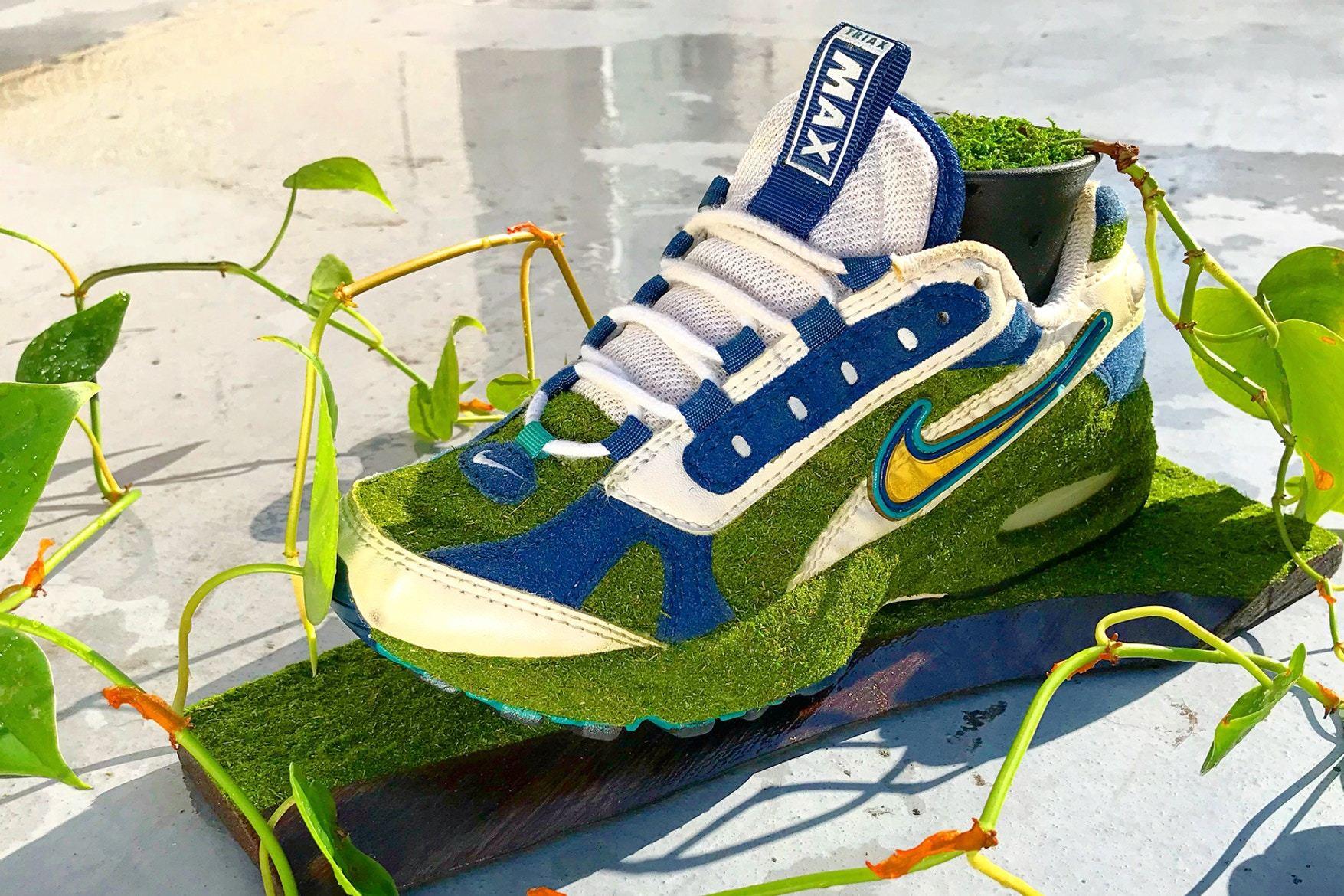 Artist Shoetree Nike Sneakers Sculptural Houseplants 13