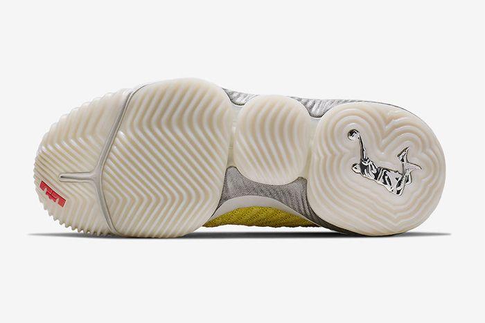 Harlems Fashion Row Nike Lebron 16 Bright Citron Ci1145 700 Release Date Outsole