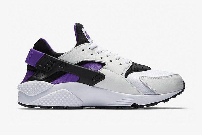 Nike Air Huarache Run 91 Qs 2018 Purple Punch 5
