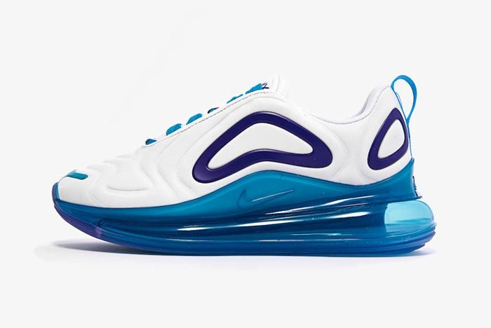 Nike Air Max 720 Spirit Teal Womens Lateral