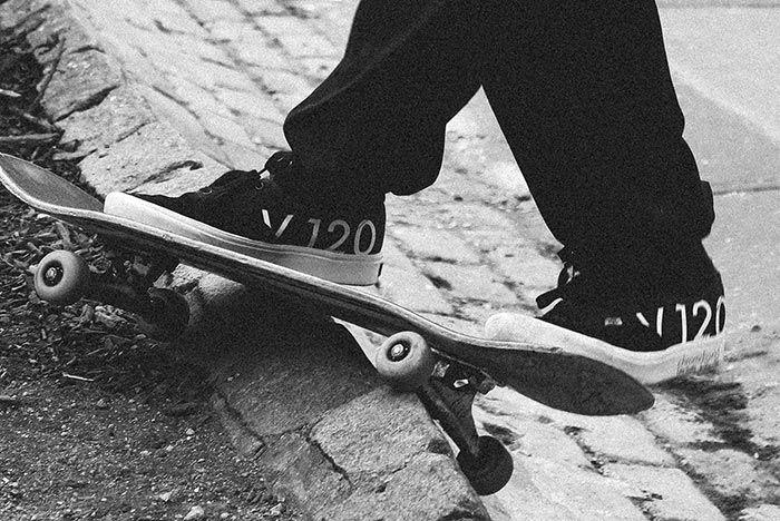 Bodega Vans Authentic Black Pair Shot