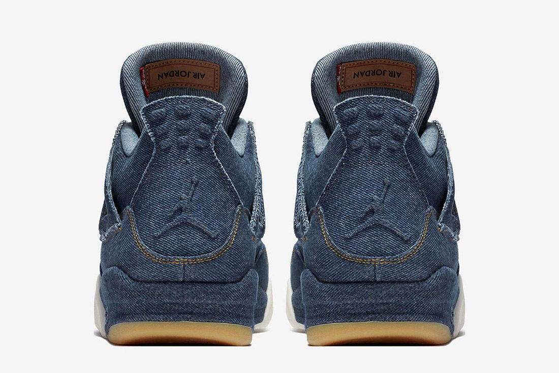 Levis Air Jordan 4 Denim Indigo 2