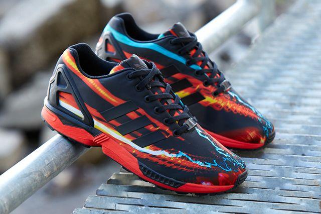 Adidas Zxflux Blurred Lights