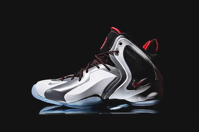 Nike Lil Penny Posite Reflective Silver Red