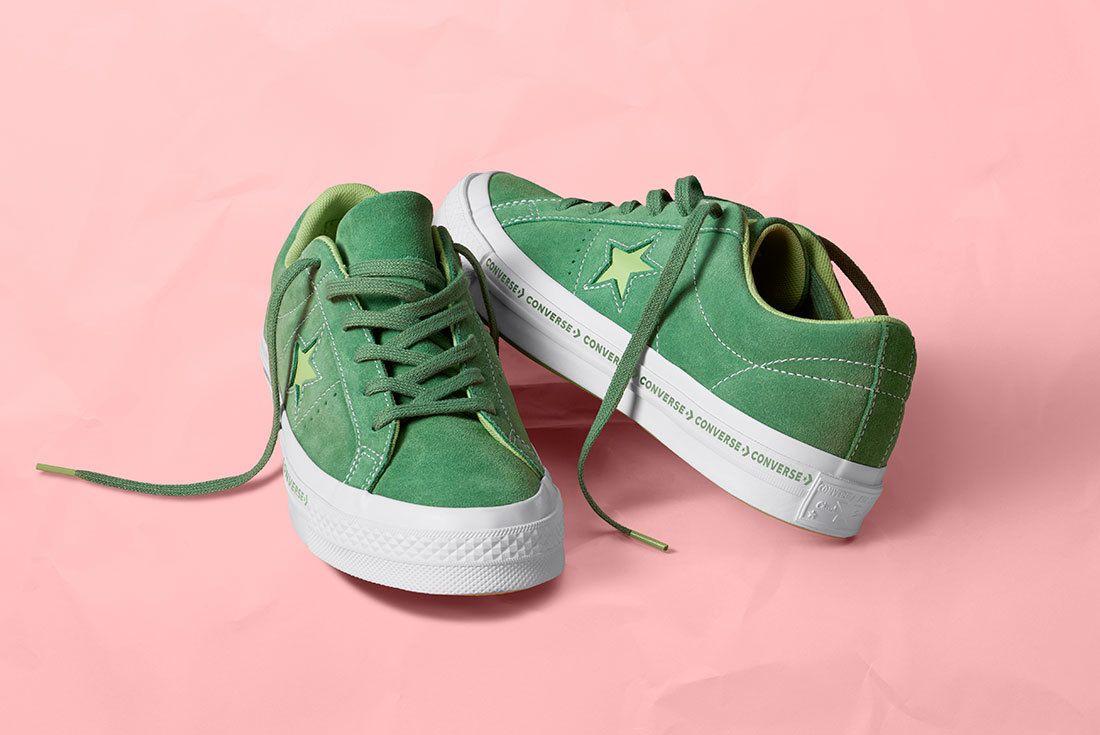 Os Pinstripe Mint Green 159816 C 1 77075 77160 Converse One Star Sneaker Freaker