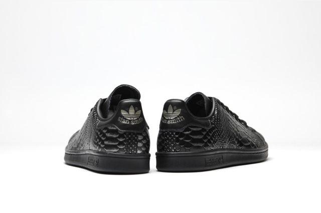 Adidas Originals Stan Smith Black Reptile 4