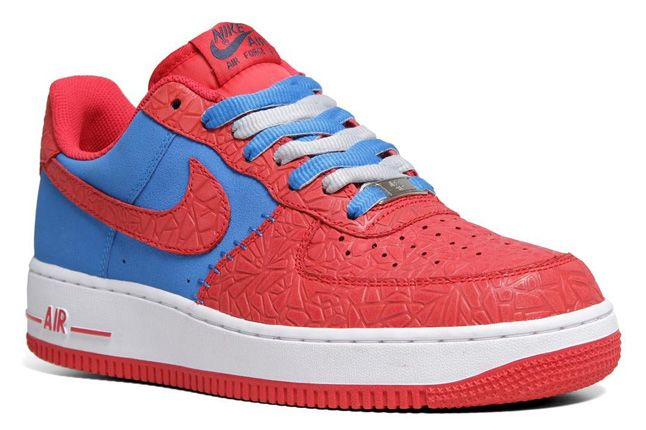 Nike Air Force 1 Le Godzilla Pack Red Blue Quater 1