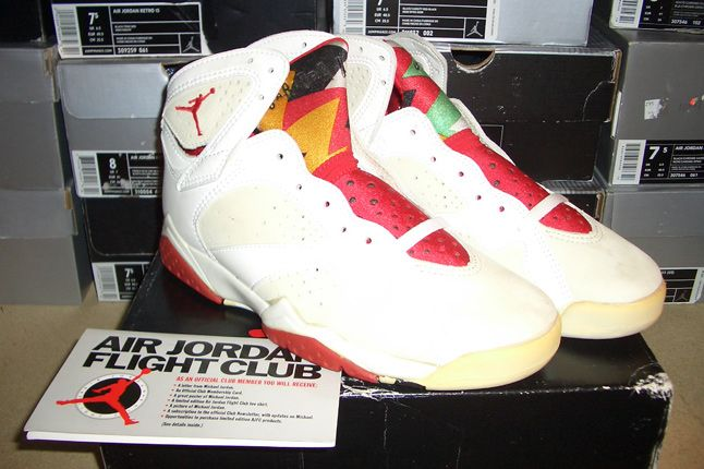 Rebecca Dahms Wmns Basketball Collection Air Jordan 7 Hare Og 1