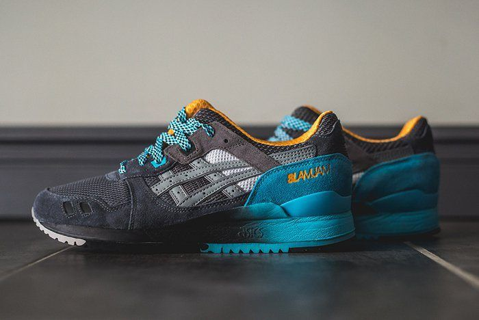 Slam Jam Asics Gel Lyte Iii 6Th Parallel 4