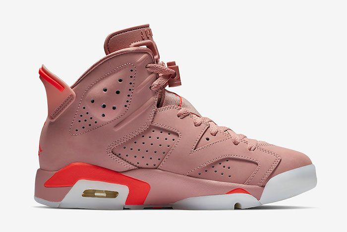 Aleali May Air Jordan 6 Millennial Pink Right