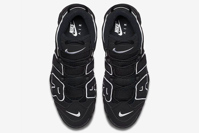 Nike Air More Uptempo Og Black White Top