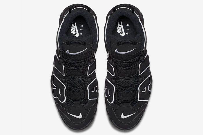 Nike Air More Uptempo Og Black White Top