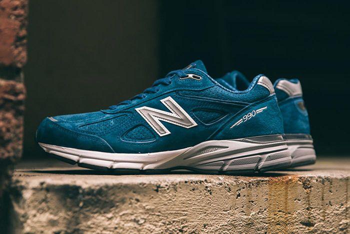 New Balance 990 V4 North Sea Blue 6
