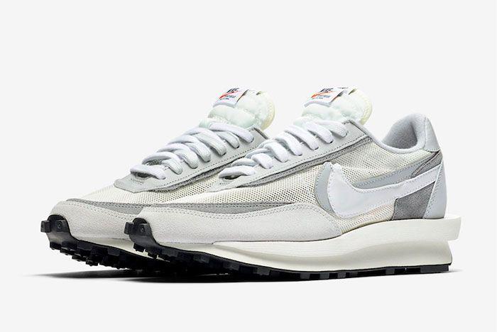 Sacai Nike Ld Waffle White Toe