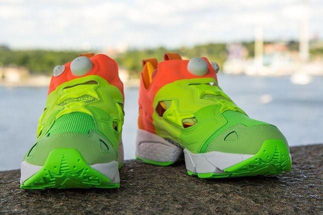 Sneakersnstuff Reebok Pump Fury Popsicle Toe Profile