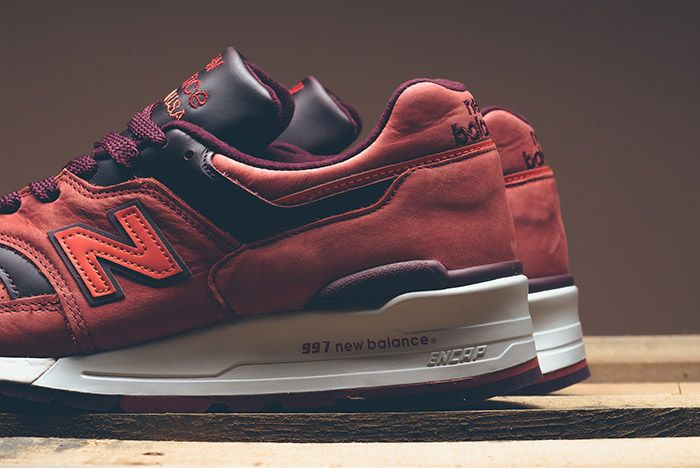 New Balance Horween 997 Red Clay 3