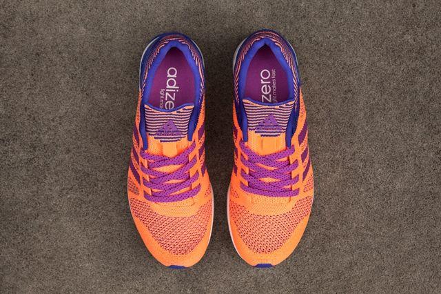 Adidas Primeknit Feather Womens Flash Orange 2