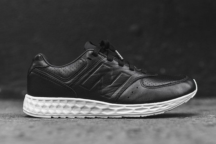 New Balance 574 Fresh Foam Black Leather 3