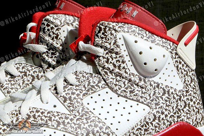 Air Jordan 6 Donda West Side Close Up