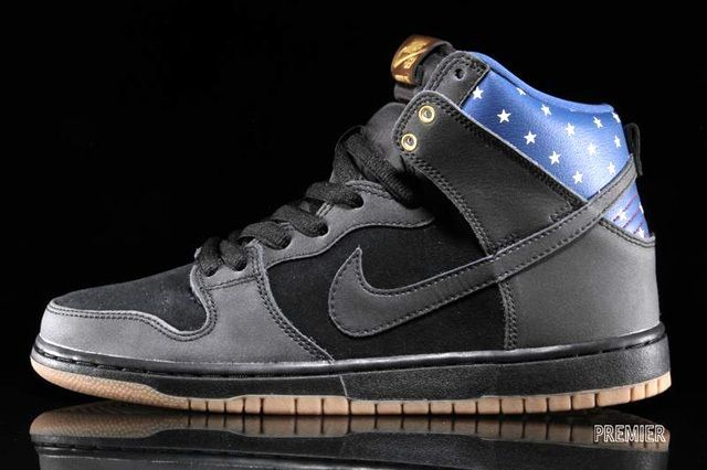 Nike Sb Dunk Hi Premium Stars 6