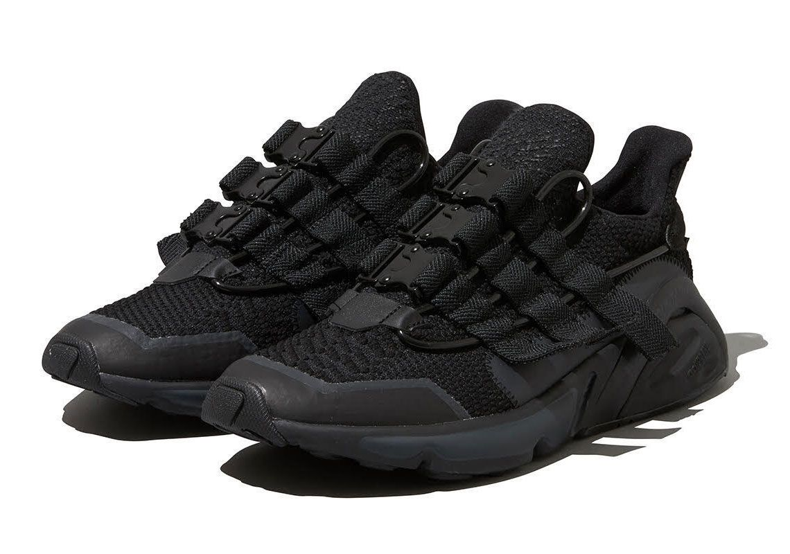 White Mountaineering adidas LXCON Black Angled
