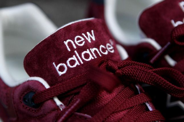 New Balance 999 Burgundy Tongue 1