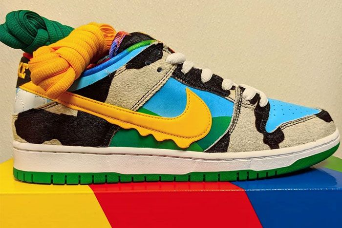 Ben And Jerry Nike Sb Dunk Low Chunky Dunky Right