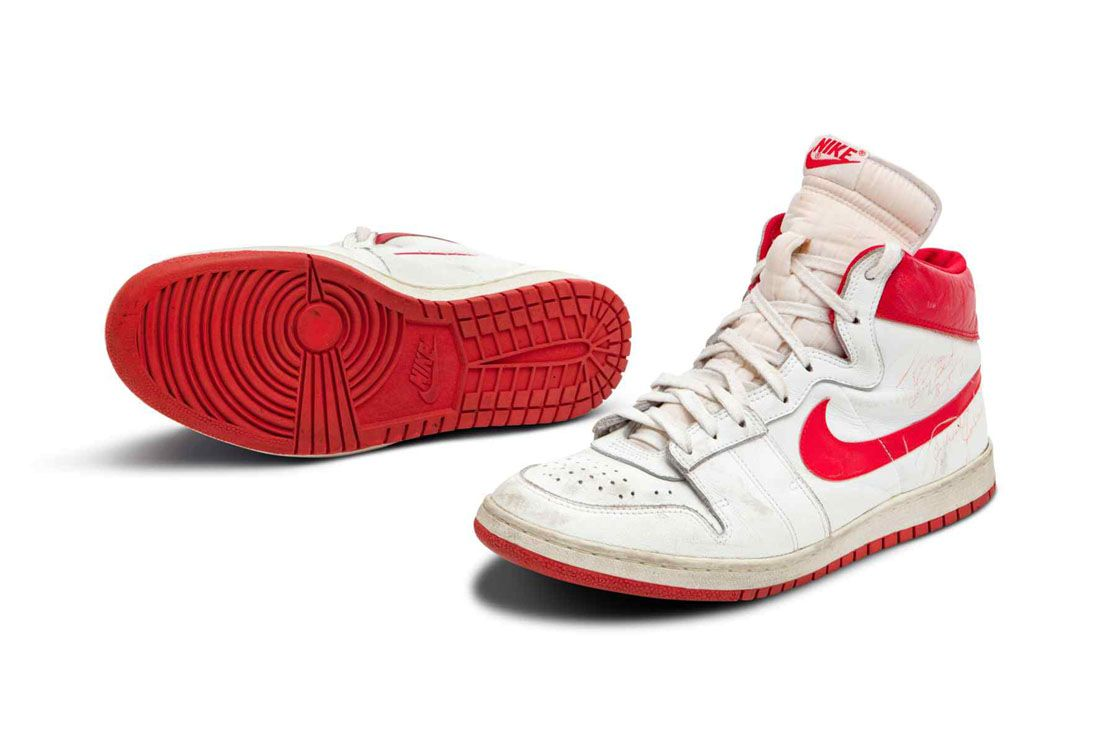 Sotheby's Nike Air Ship 1984 Michael Jordan Worn