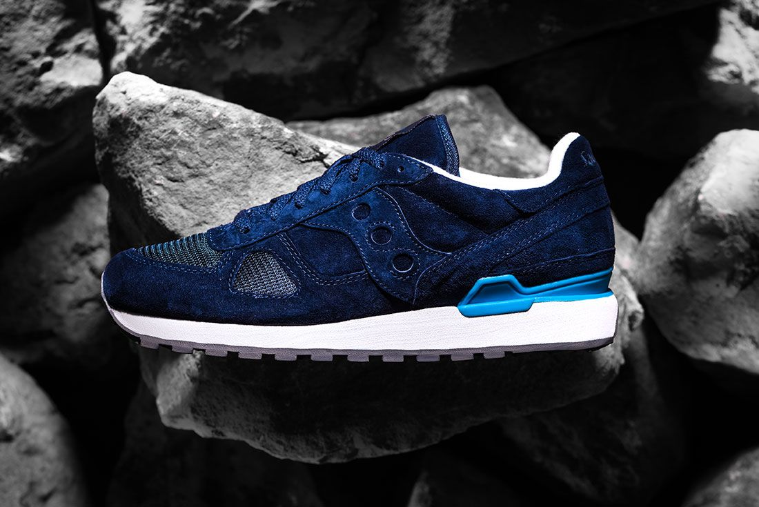 Universal Works Saucony Blue Lateral