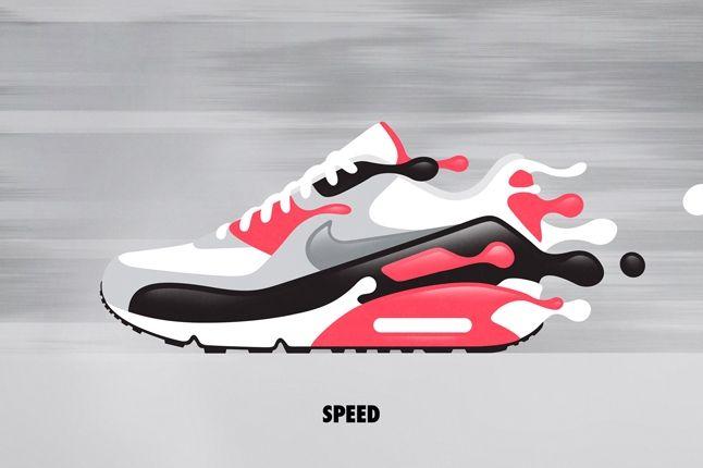 Nike Matt Stevens Airmax 90 Speed 1