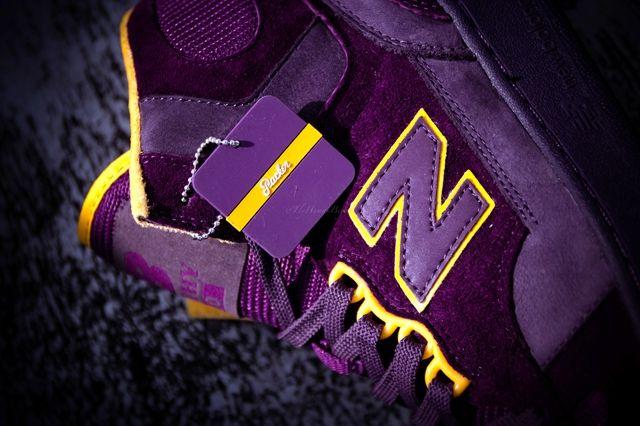 Packer Shoes New Balance 740 Purple Reign Bump 3