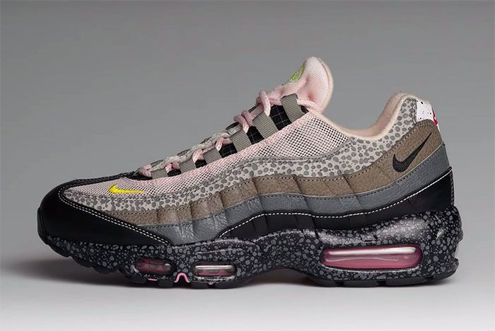 Size Nike Air Max 95 20 For 20 Lateral Grey