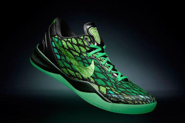 Kobe 8 System Nikeid Green 1