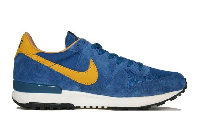 Nike Air Solstice Blue Profile 1