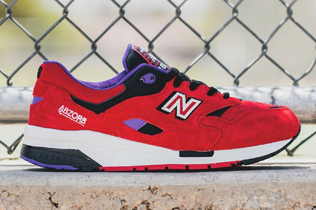 New Balance 1600 Pinball Red 1