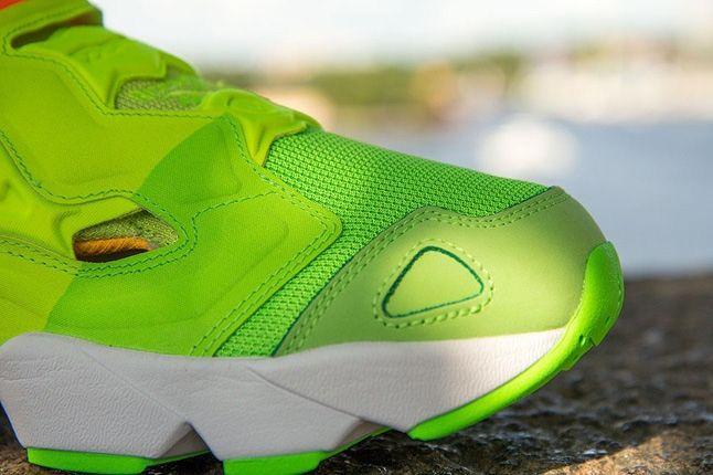 Sneakersnstuff Reebok Pump Fury Popsicle Toe Detail