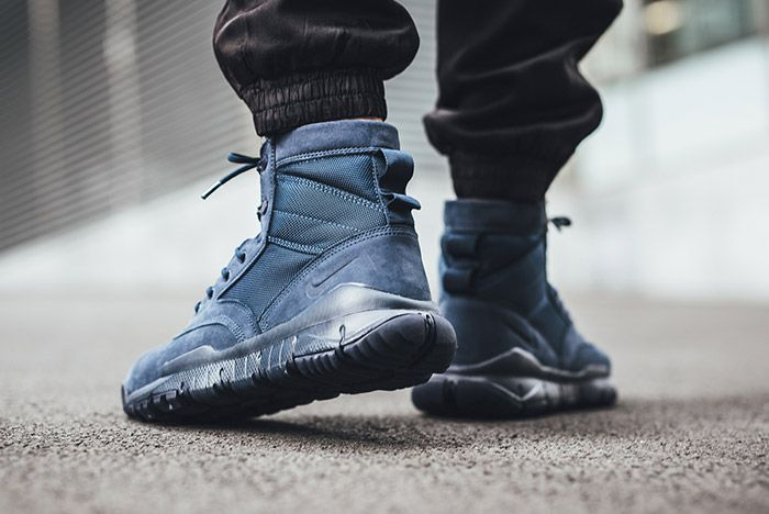Nike Sfb Leather 6 Inch Navy 2