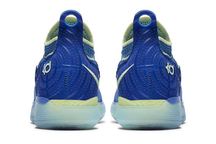 Nike Kd 11 Warriors Blue 2 Sneaker Freaker