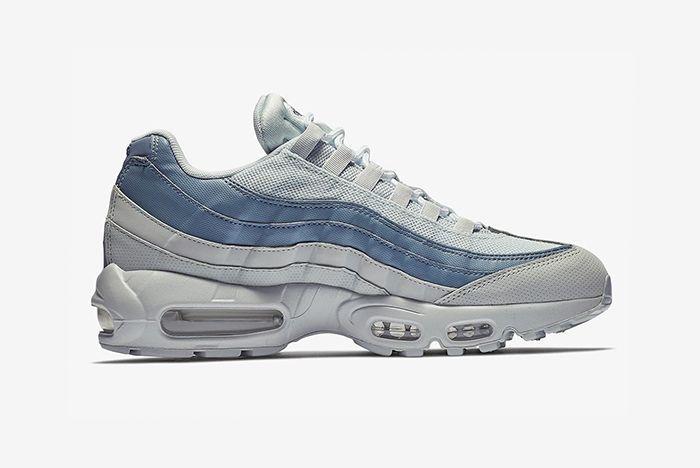 Nike Air Max 95 Blue Grey 2 Sneaker Freaker