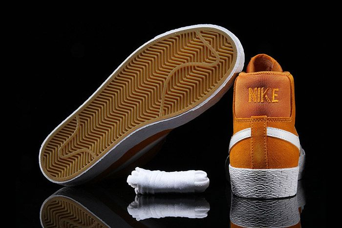 Nike Sb Blazer Circuit Orange 1