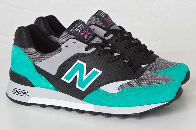 New Balance 577 Carbon Fiber Blackturquoise5