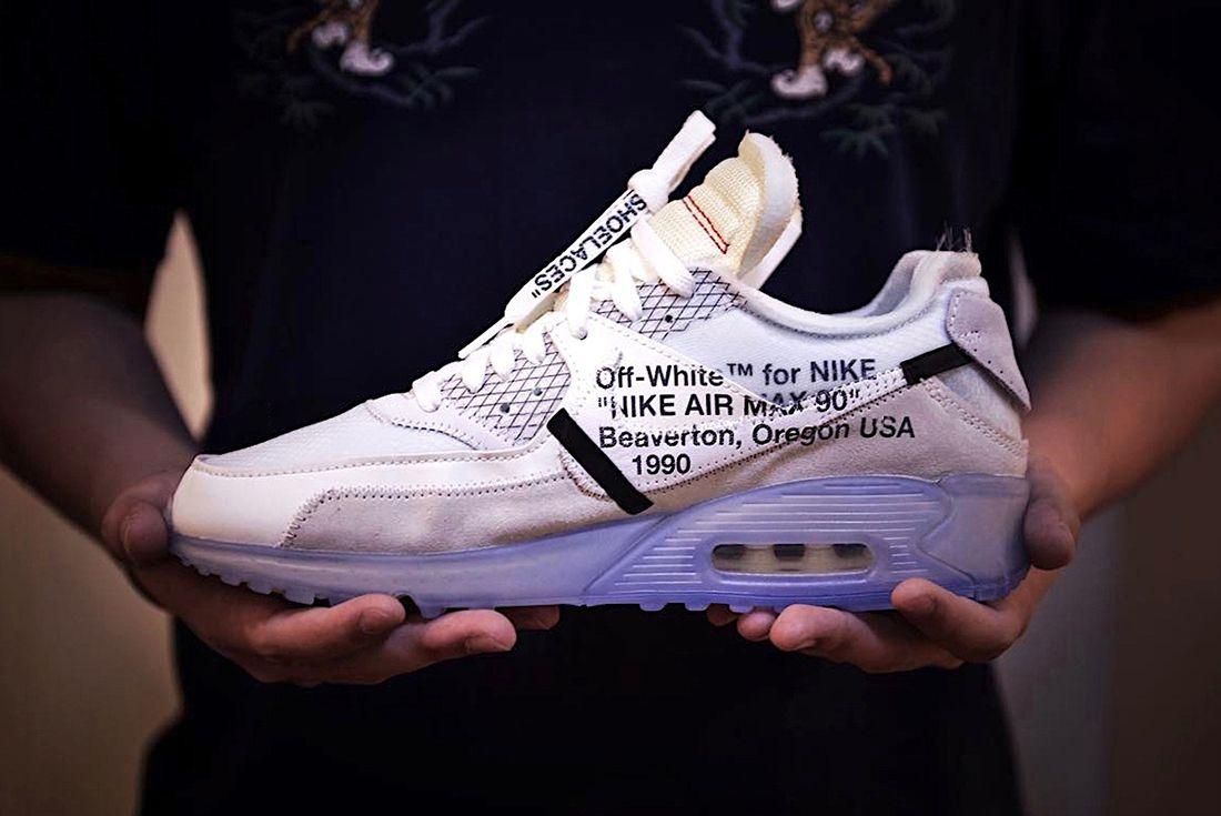 Off White X Nike Air Max 90 1