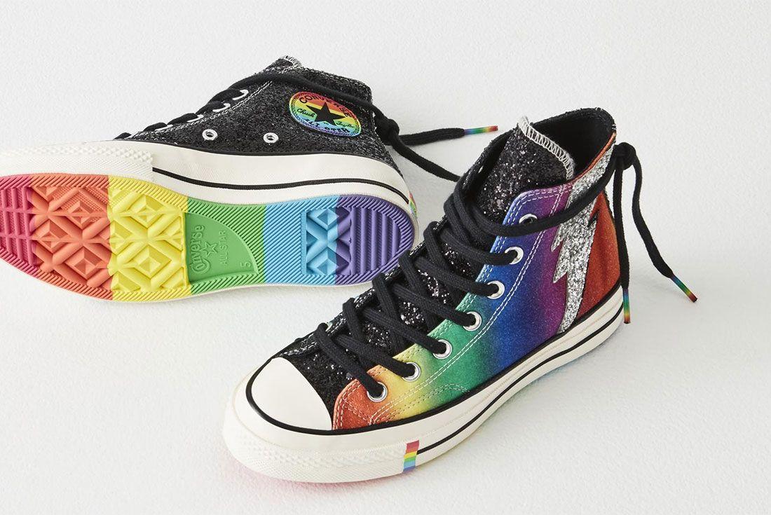 Converse Chuck 70 Pride Hi Pride Flag Sole