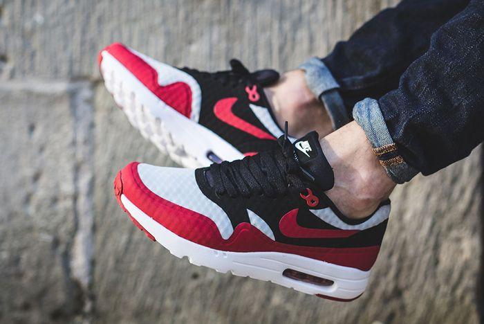 Nike Air Max 1 Ultra Essential Gym Red Black