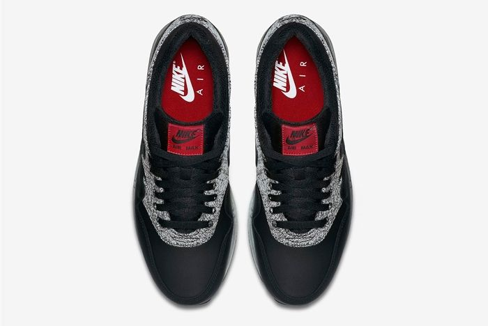 Nike Air Max 1 Essential Knit Black Cool Grey 5