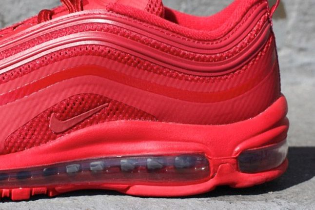 Nike Air Max 97 Gym Red Heel Bubble 1