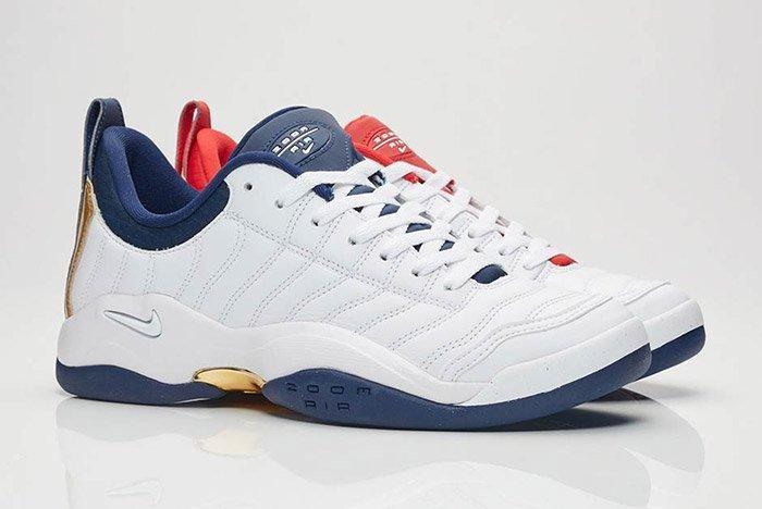 Nike Air Oscillate Red White Blue Usa 5