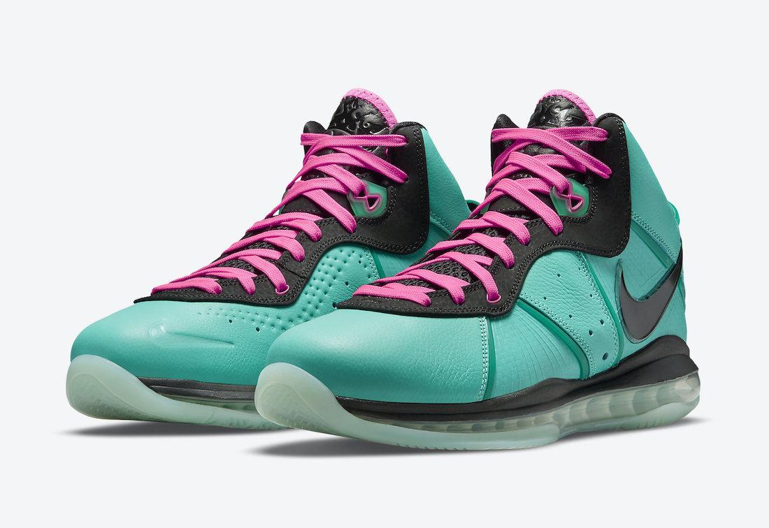 Nike LeBron 8 South Beach CZ0328-400