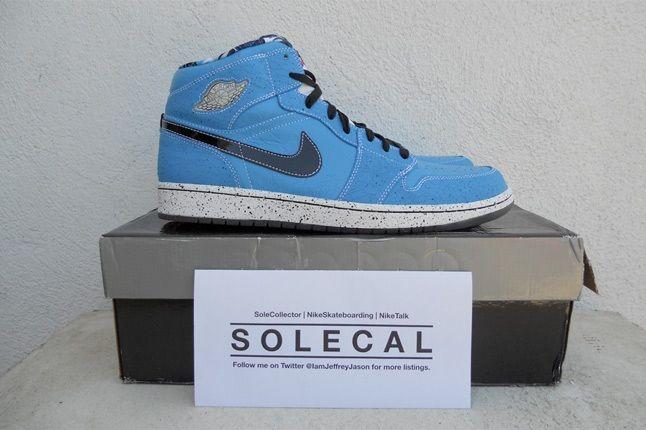 Air Jordan 1 Blue Speckle 2