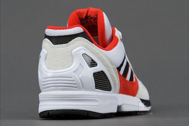 Adidas Zx8000 Wht Blk Red Heel Profile 1